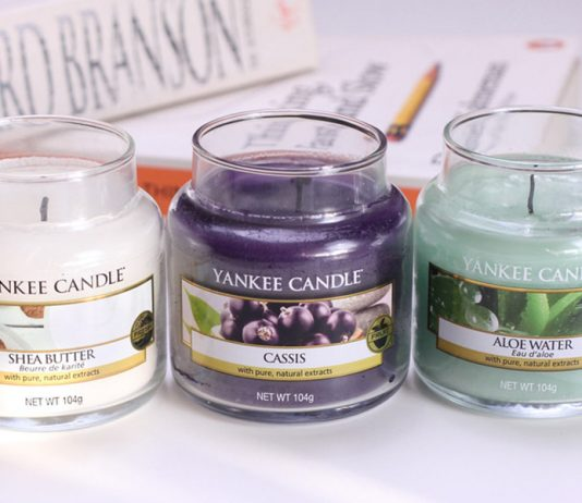 three best yankee candle scents on a table